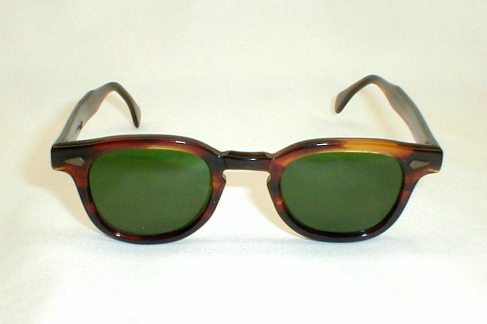 Mens Vintage Tortoise Hornrim Eyeglasses Celebrity J