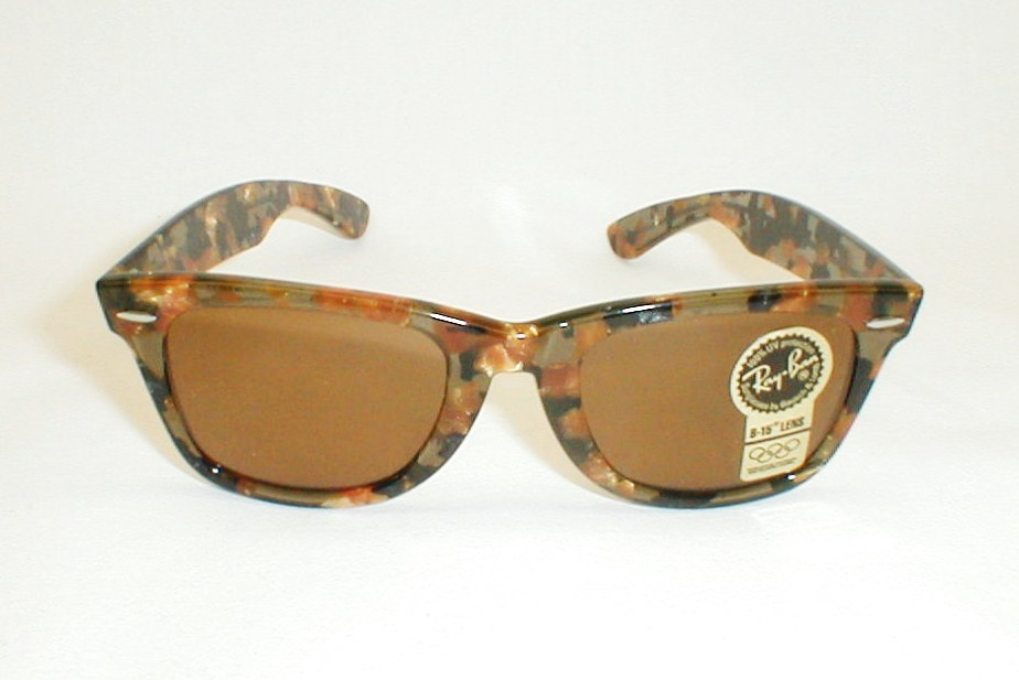 vintage ray ban bausch and lomb wayfarer sunglasses