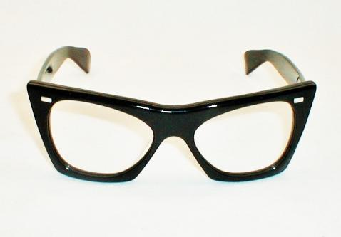 Buddy Holly Black Thick Frame Optical Glasses