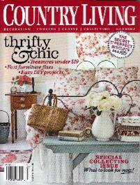 Eyeglassboy in Country Living Magazine, Thrifty & Chic