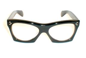 1957 Chevy Bel-Air Black Buddy Holly Eyeglasses