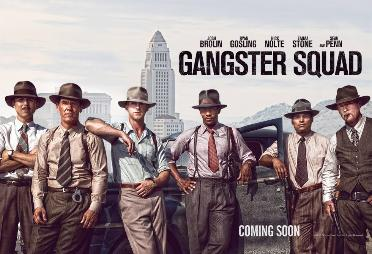 Eyeglassboy in Gangster Squad, The Movie Poster